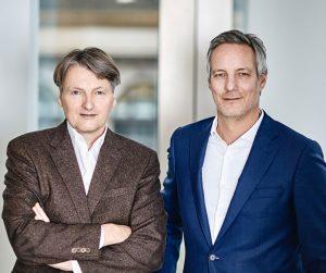 Die NOVON-Gründer: Frank Solms Nebelung und Ulf Ziegler