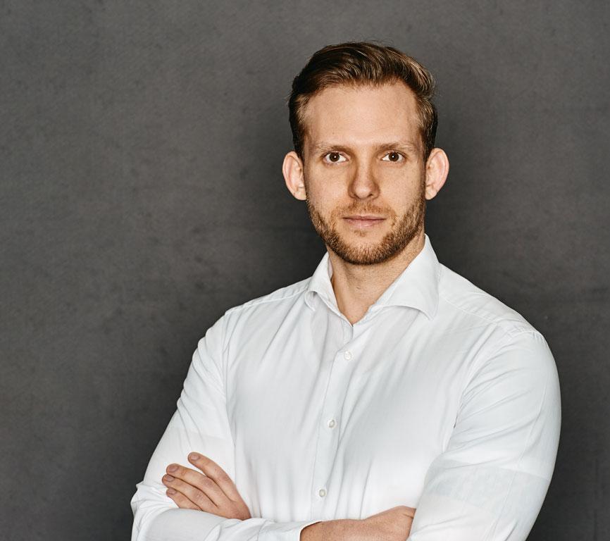 Portrait von Jannik Hansen