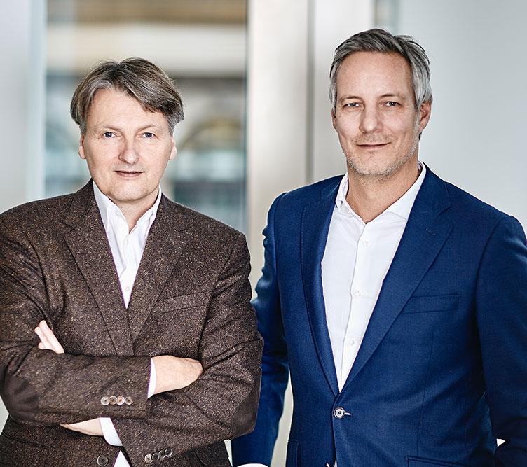 Das Novon Gruenderteam: Frank Solms Nebelung und Ulf Ziegler